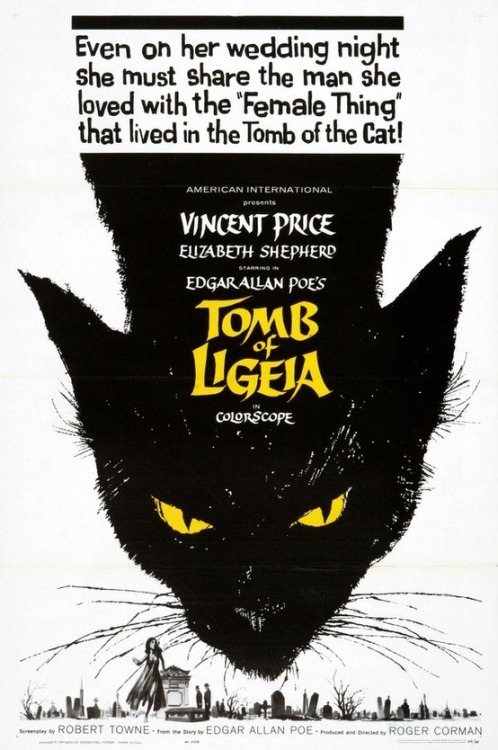 Tomb of Ligeia movie poster (1964)