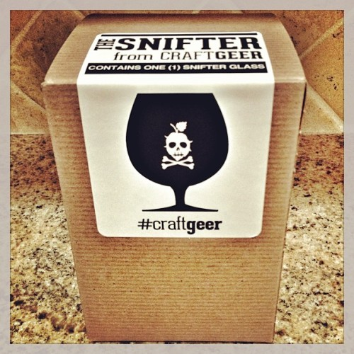 Brand new, retail-ready #craftgeer snifter labels arrived today… #craftbeer