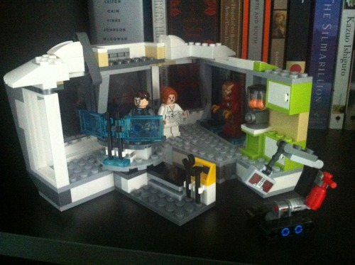 Brand spankin' new Ironman 3 LEGO set.