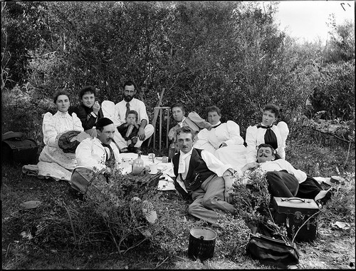 View of a picnic scene by Powerhouse Museum Collection on Flickr.Look at the photo. Consider what has has just happened here, or what is about to happen here. Who has been here? Who will come here and and what will they do? What kinds of interactions can you imagine? Write one leaf about these or other things that occur to you upon looking at the picture. Do not allow yourself to be limited by what you see. Go.| Write One Leaf +about +ask +random +facebook +twitter | sponsors+You Are a Dog [ Kindle | Google | iBookstore ]