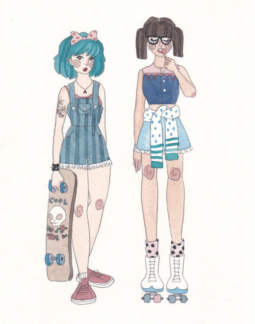 floralprintsandkissing:  some cool chicks