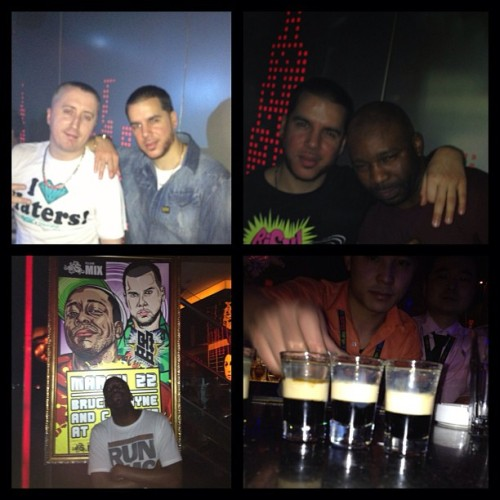 Part 3 highlights (last one) feat @djjcue @cjbeatz DJ B and something that F##K me up haha #beijing #china #thedjlife #drank #epic