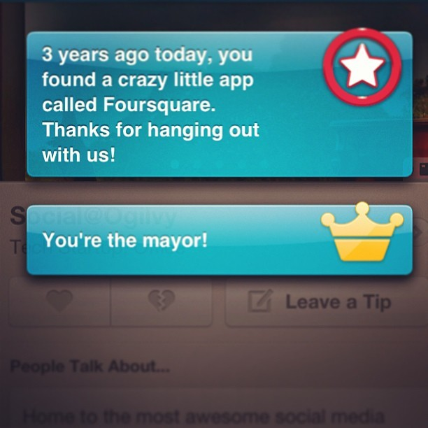 Happy #foursquare birthday to me! #4sq (at Social@Ogilvy)