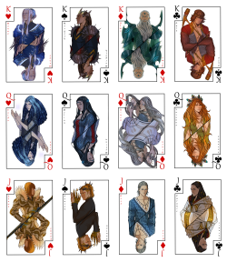 araphiel:  Silmarillion deck by *Gerwell