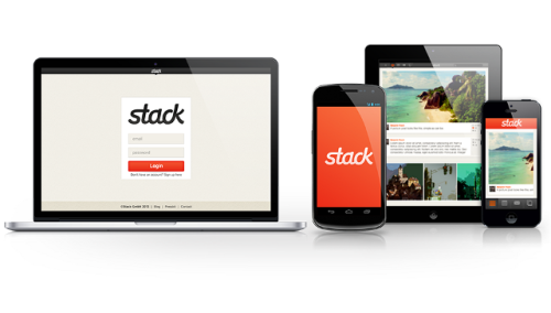 laughingsquid:  Stack, A Privacy-Focused Social Network