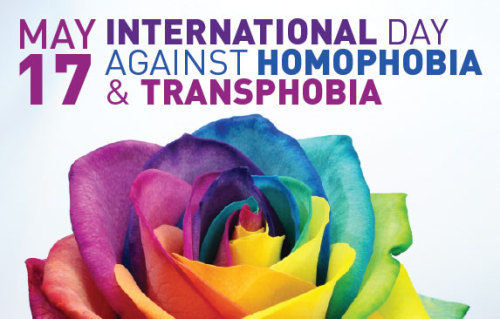 consuelaslife:  Int'l Day Against Homophobia and Transphobia observed around the globe