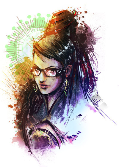 gamefreaksnz:  Bayonetta Created by Vincent Vernacatola