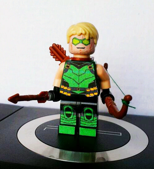 New 52 Green Arrow -edario