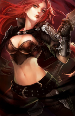 LoL: Katarina the Sinister Blade by =ippus