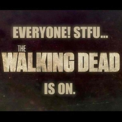 #squaready #seriously #stfu  #tv #thewalkingdead