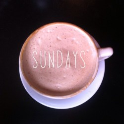 #sundays #cappuccino #caffeine #brunch