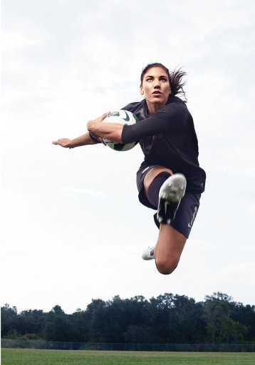 Hope Solo listed on Newsweek's Women In the World: 125 Women Of Impact   Hope Solo: Olympic Icon One of the top goalkeepers in the world, Hope Solo led the U.S. women's soccer team to gold in the 2012 London Olympics. After a difficult childhood, a strained relationship with her father, and a nearly career-ending injury in 2011, Solo survived—and proves an athlete doesn't have to be perfect to be inspirational. the last word, I approve, Newsweek! Also, I noticed Hope and Danica Patrick are the only two athletes on the list. great job, girls^^