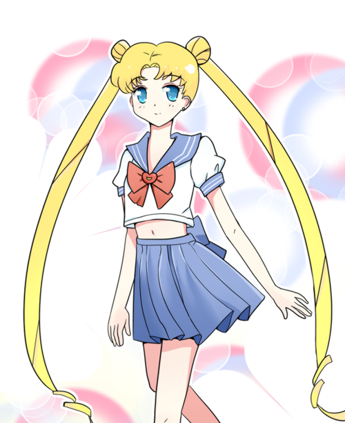 nagix3:  My drawing of Usagi Tsukino ^^