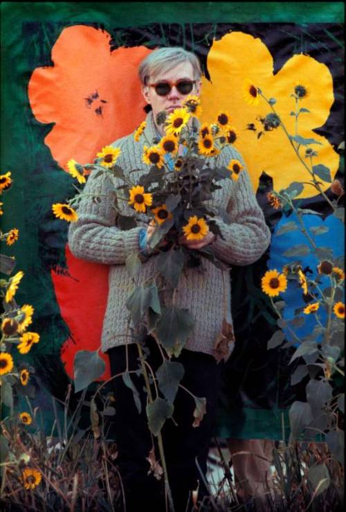 Andy Warhol, Photographed by William John Kennedy 1964.