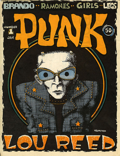 gillianmae:  John Holmstrom on founding and editing 'Punk,' the chronicle of late-'70s New York. http://capi.tl/T7WjWw