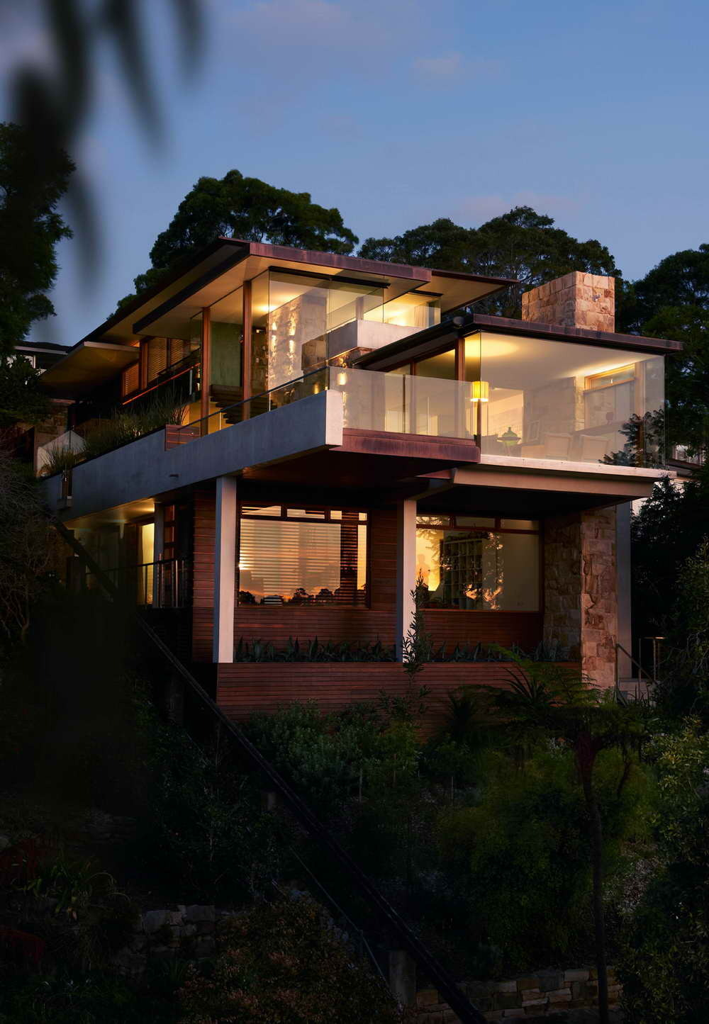 justthedesign:  The Delaney Villa By Jorge Hrdina Architects