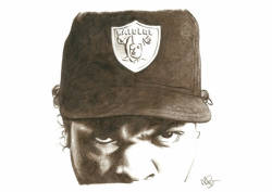 hiphoppuppet:  Ice Cube Pencil Sketch