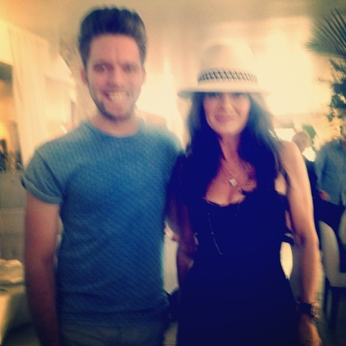 A Villa Blanca waitress took a bad picture of me and Lisa Vanderpump!!