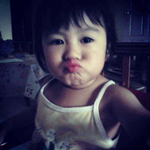 My little cousin~! #Cute #귀엽다 #可爱 (^3^)