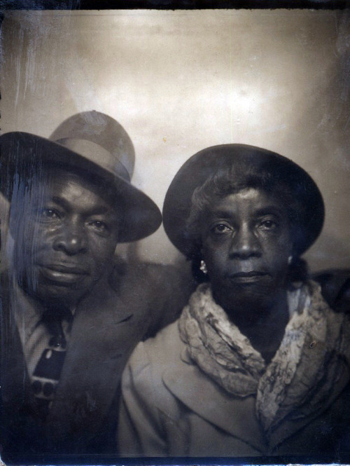 Mom & Dad 1940's, Texas ©WaheedPhotoArchive, 2013