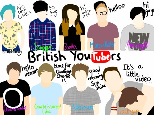 unwantedunwalrus:  British Youtubers why has this got so many notes   It's not even good