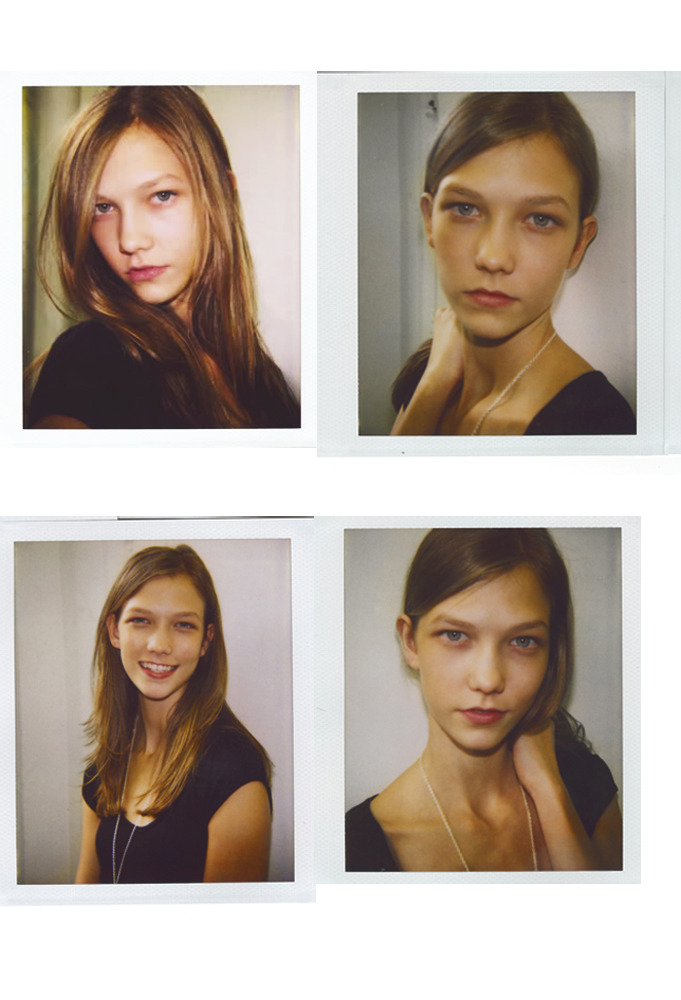 Karlie Kloss/Polaroids 2007