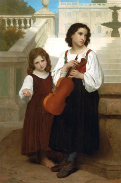 Far from the Country - artist, William-Adolphe Bouguereau