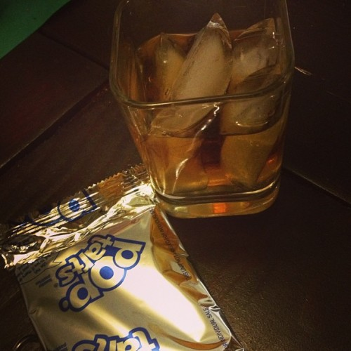 Whiskey and pop tarts. I earned tonight.