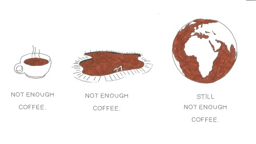 unpopular:  amajor7: NEVER enough coffee