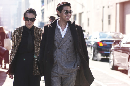 guerreisms:  Tina Leung (Tina Loves) & Blue Carreon (Style Intel)