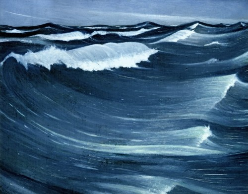 artmastered:  Christopher Nevinson, Waves, c.1917