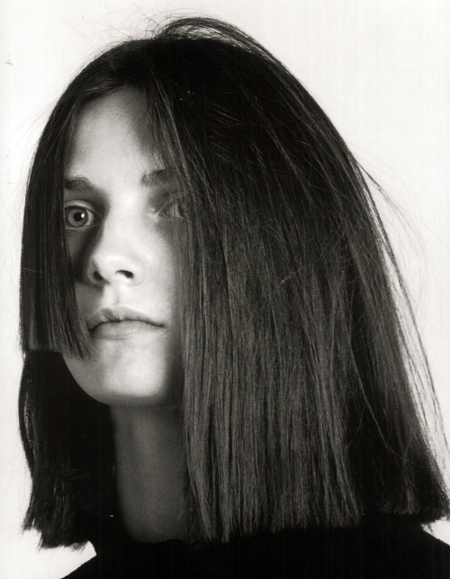 cotonblanc:    № 26. Laura by David Sims, Heads: Hair by Guido