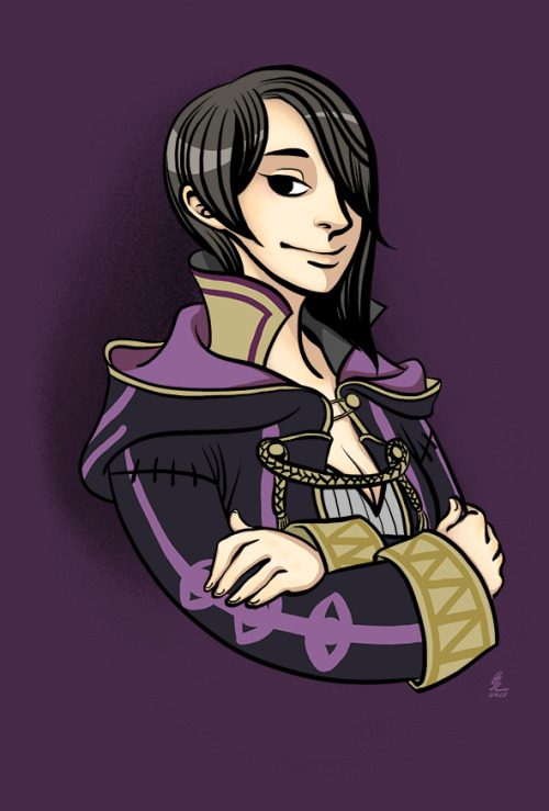 Oops I colored my Fire Emblem Avatar in…and made her my avatar! Fufufu.Edit: in my second playthrough, she still looks the same but I changed her name from Sophia to Wren. Just in case anyone who streetpassed me was wondering!