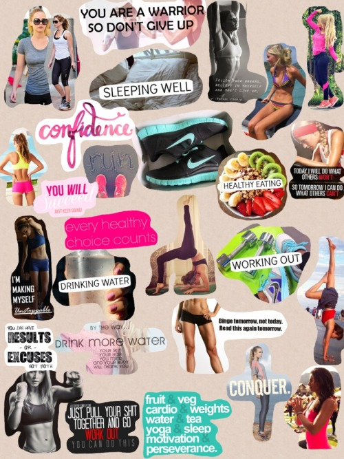 fitnessforafuture:  #anotherfitblrcollage
