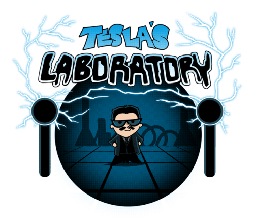 physicsphysics:  Tesla's Laboratory available today only on TeeFury