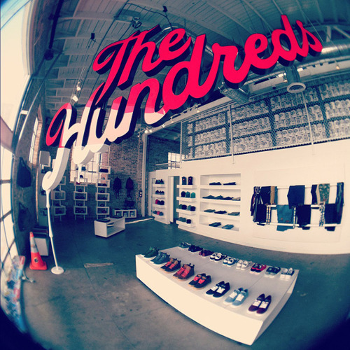 The Hundreds.