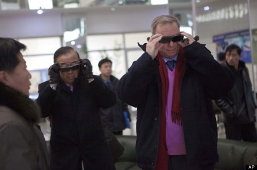 looking at North Korea in 3D