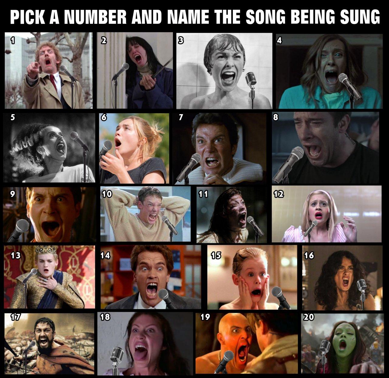 #memes#movies#scream#songs#singing#meme#horror movies#action movies#star trek#salma hayek#300 #game of thrones #the shining