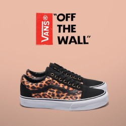 Vans Old Skool 'Leopard' ~ Available in stores and online now ~ Sizes range from 4 - 9UK, priced at £57 #size #vans #oldskool #leopard #sizehq  (at product code: 124711)