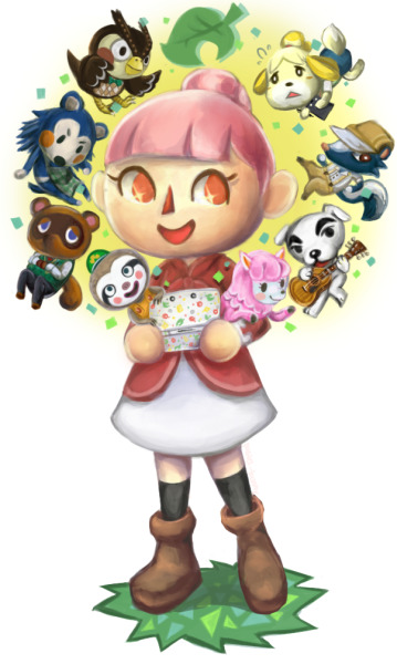 Animal Crossing fanart yay!