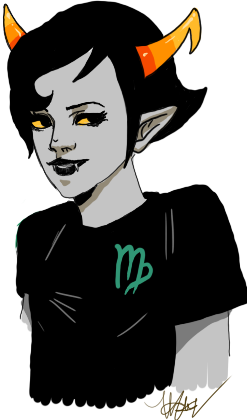 thevigilantson:  Kanaya. I'm not super happy with it. I also wasn't in a comfortable seated position.