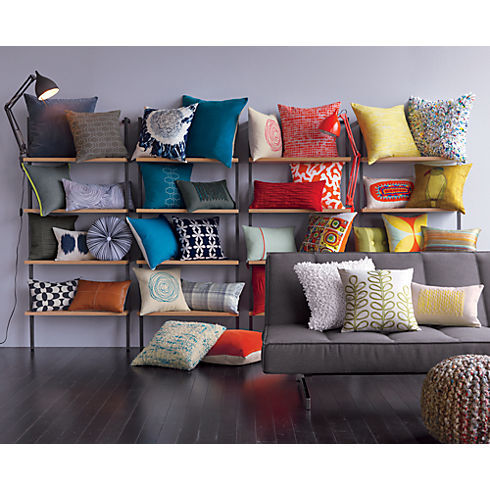 fantasticfuturehome:  via  Would love a wall of cushions in my home!!