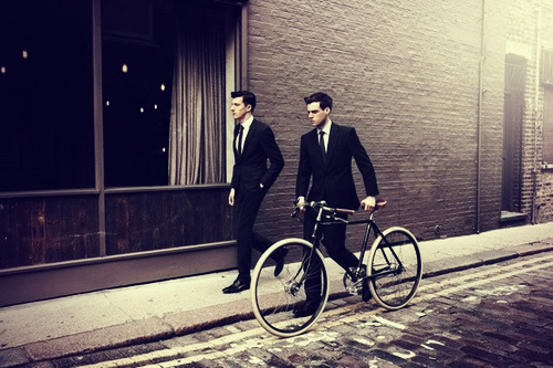 richmenslife:  Suits and Cycle.