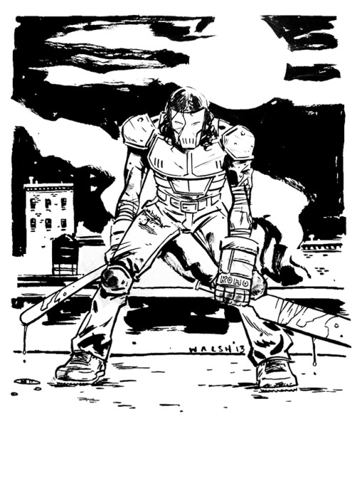 Casey Jones C2E2 Commission.