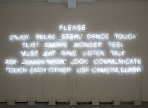 Danish artist Jeppe Hein, Please, 2008Contemporary-Art-Blog