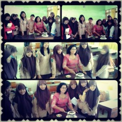 Happy Birthday ibu Nimia cantik :3 ♥ {}
