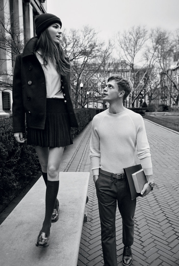stormtrooperfashion:  Cameron Russell & Benjamin Eidem for Man About Town, Summer 2013