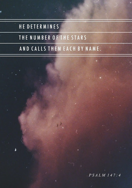 Psalm 147:4 Each star