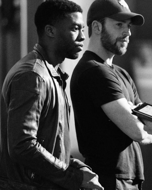 weheartchrisevans:  chrisevans: I'm absolutely devastated. This is beyond heartbreaking. Chadwick was special. A true original. He was a deeply committed and constantly curious artist. Few performers have such power and versatility. He had so much amazing work still left to create. I'm endlessly grateful for our friendship. My thoughts and prayers are with his family. Rest in power, King. 💙