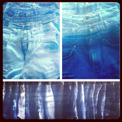 We just received a new shipment of shorts! We also have added some shorts to our SALE rack! #highwaist #shorts #summertime #oldefieldsclothing  (at Olde Fields)